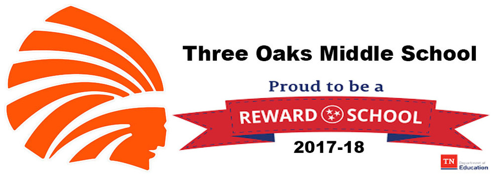 Three Oaks Named a Reward School