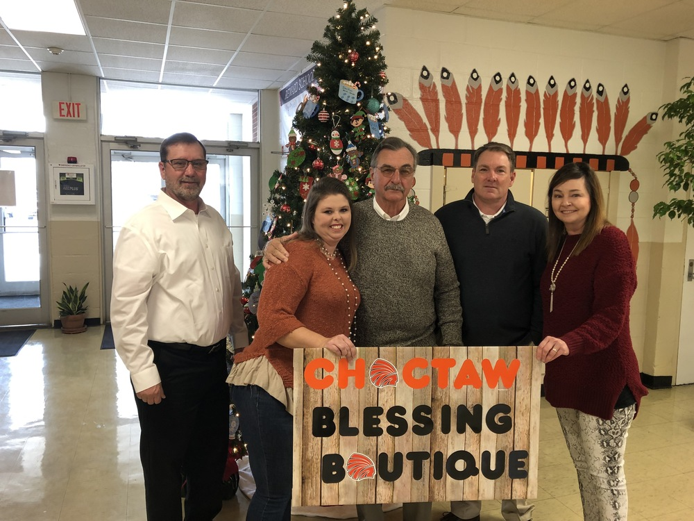 Choctaw Blessings Botique Donation