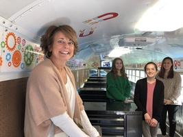 DCHS Students Tour STEAM Bus