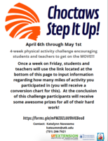 Choctaws Step it up program guidelines