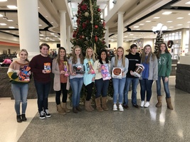 DCHS Leadership classes provide gifts for local family