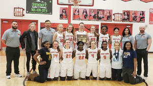 DCHS Lady Choctaws Basketball Team Wins District