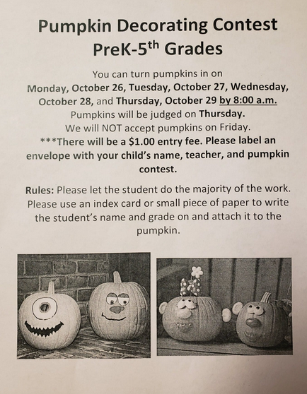 Pumpkin Decorating Info