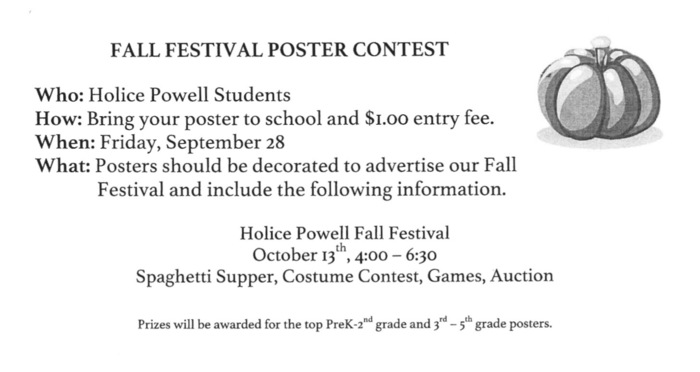 poster contest information