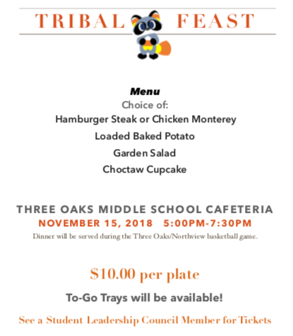 Tribal Feast Flyer